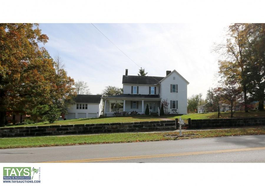 ABSOLUTE ONLINE AUCTION: SOUTHERN MANOR HOME - 2 GUEST HOMES - DETACHED GARAGE