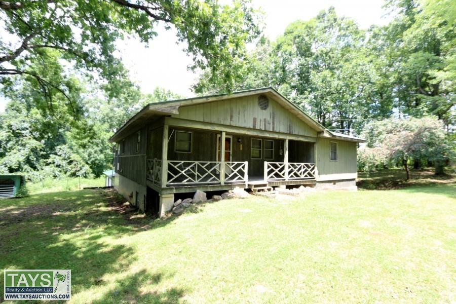 ABSOLUTE ONLINE AUCTION: 3 BR / 2 BA HOME ON 3.56 AC±
