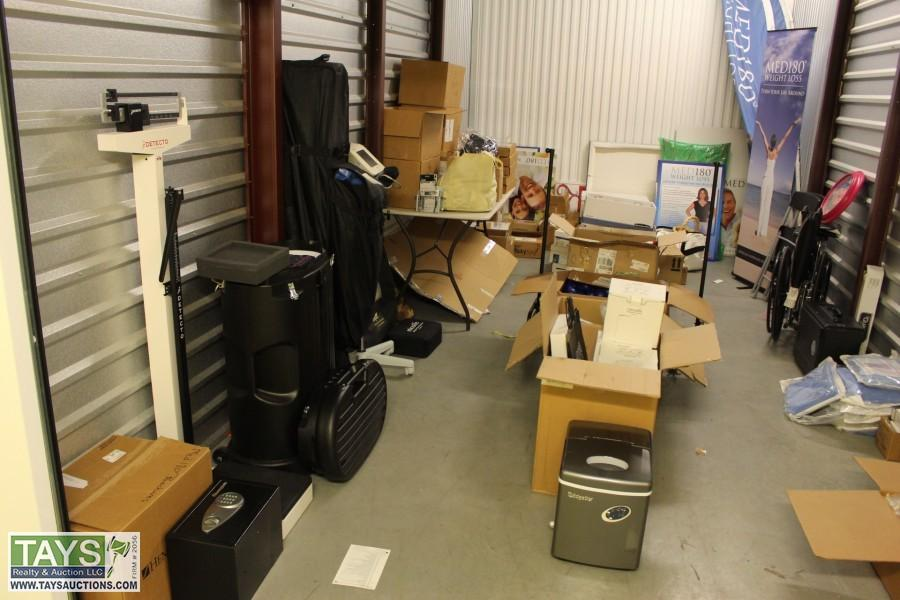 ONLINE BANKRUPTCY AUCTION: MEDICAL EQUIPMENT - OFFICE SUPPLIES - FURNITURE - APPLIANCES