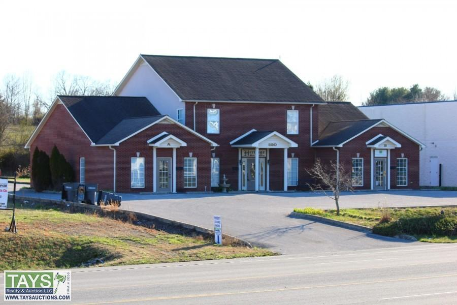 ABSOLUTE ONLINE AUCTION: 5,072 SQ.FT.± COMMERCIAL BUILDING ON 0.66 AC±