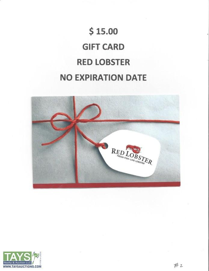 Tays Realty & Auction - Auction: KIWANIS ONLINE CHARITY AUCTION ITEM: Gift Certificate