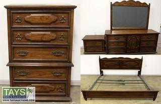 Bueno Oak Bedroom Suite from Bassett Furniture