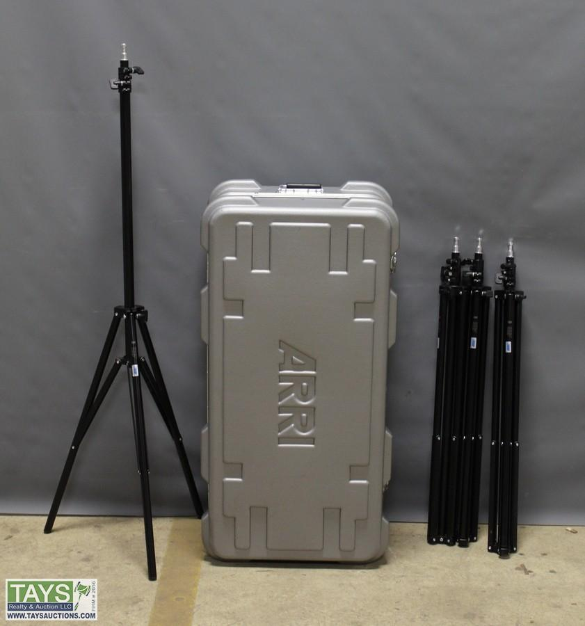 One Arri Case with Chimera Perfect Lighting Supplies and Extendable Tripods & Tays Realty u0026 Auction - Auction: Bankruptcy Auction ITEM: One Arri ... azcodes.com
