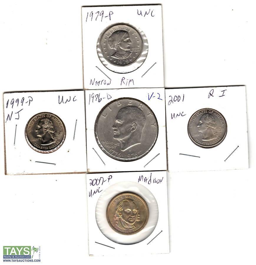 Tays Realty & Auction - Auction: Nov  Coin Auction ITEM: 1979-P