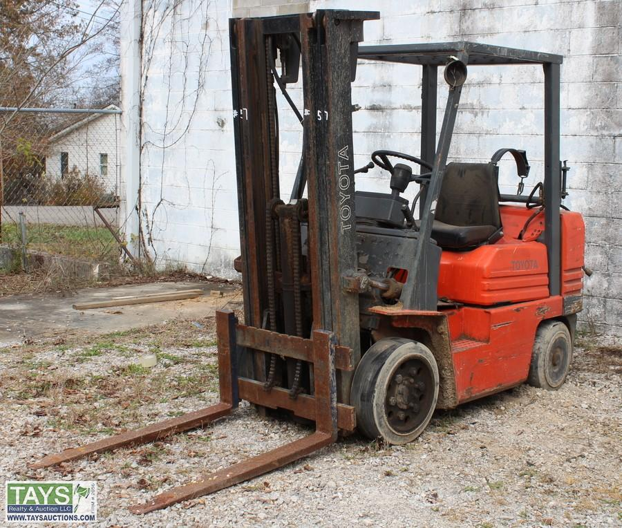 Tays Realty & Auction - Auction: Wood Processing Equipment