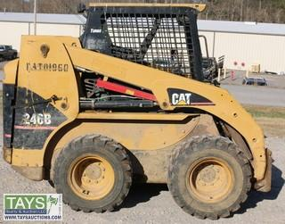 Cat 246B Skid Steer