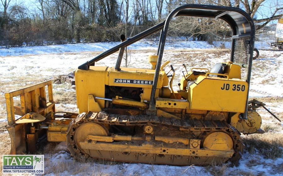 John deere 350 Bulldozer manual