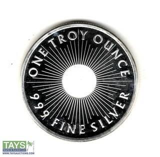 .999 One Ounce Silver Sunshine Mint Proof Coin